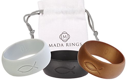 Elegant Silicone Wedding Rings Mada