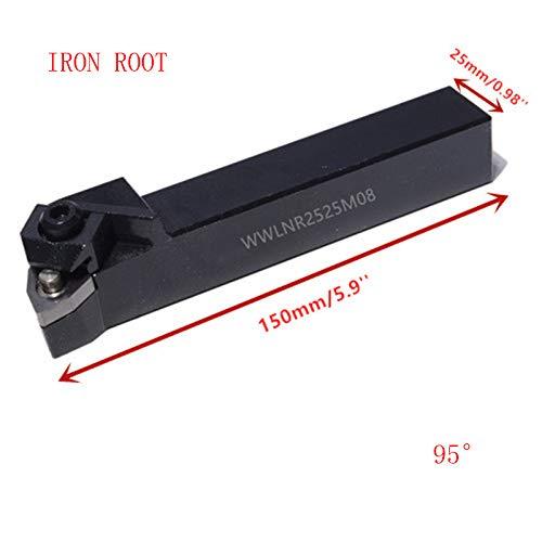 WWLNR2020K08 WWLNL1616H08 16 mm, 20 mm, 25 mm, 32 mm Soporte de metal para herramientas de perforaci/ón