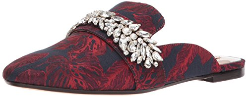 Badgley Mischka Women's Kana Slipper, Burgundy, 6 M US by Badgley Mischka