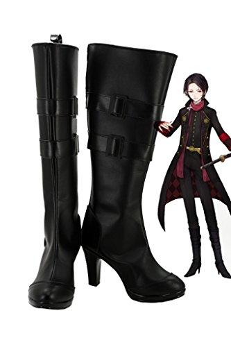 毎年スカウト作曲家Touken Ranbu Online Game Kashuu Kiyomitsuコスプレ靴ブーツカスタムMade