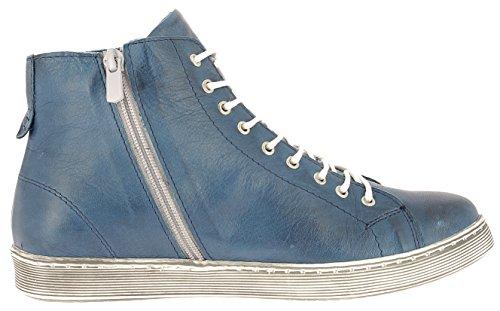 Para Conti Cuero 0341500 Andrea Vaquero De Zapatos Mujer PXSxqwfvq