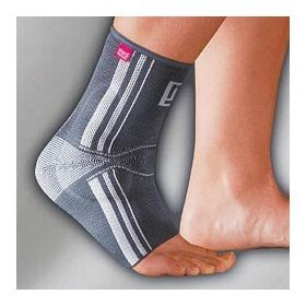 Achimed® ACHILLES TENDON SUPPORT WITH ANATOMICALLY SHAPED SILICONE INSERT, Silver, V, 10 1/4