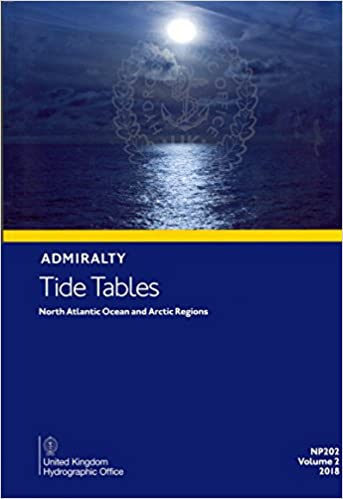 Book Tide Table 2 - North Atlantic Ocean and Arctic Regions (Admiralty Tide Tables)
