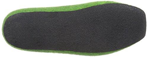MagicFelt JU 720 Unisex-Erwachsene Pantoffeln Grün (green 4801)
