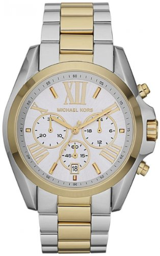 Michael Kors Women's MK5627 Bradshaw Gold/Silver - Silver Gold Kors Michael And
