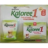 Kaloree 1 Mankind Sugar Sweetner Pack Of 400 Tablets +200 Tab Free