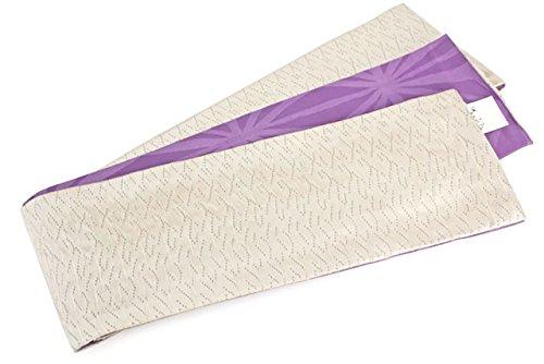 漂流固める言語半幅帯 女性 そしてゆめ しじら織り 膨れ織り リバーシブル