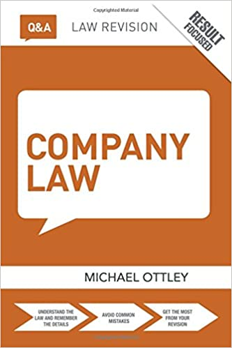 Q&A Company Law (Questions and Answers): Amazon co uk: Mike
