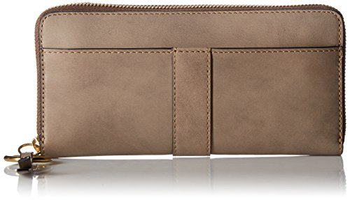 Ilana Harness Zip Wallet Antique Veg Tan Wallet, GREY, One Size by FRYE