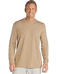 UPF 50+ Men's Long Sleeve T-Shirt - Sun Protective