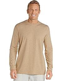 Coolibar UPF 50+ Men's Long Sleeve T-Shirt - Sun Protective