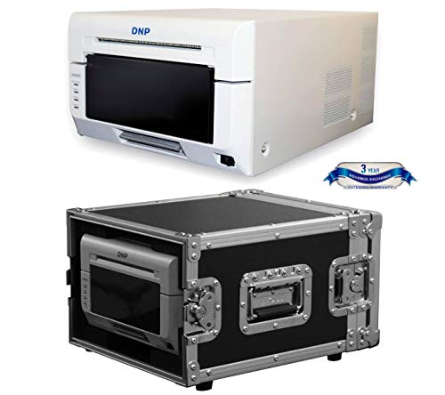 - DNP DS620A Compact Professional Event & Photo Booth Portrait Digital Printer with Odyssey Innovative Designs Flight Zone Hard Case (Black/Chrome)