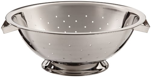 Adcraft COL-5 5 qt Mirror Finish Stainless Steel Colander