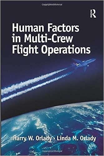 Human Factors in Multi-Crew Flight Operations: Harry W  Orlady