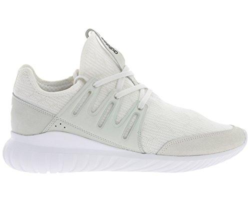 adidas Originals Tubular Radial Primeknit Schuhe Herren Sneaker Turnschuhe Weiß S76714 Weiß