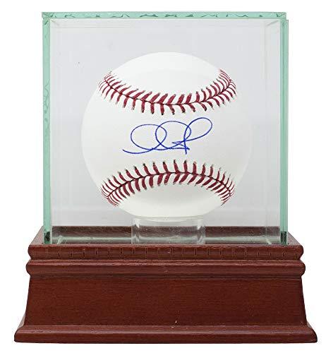 Adam Jones Arizona Diamondbacks Signed MLB Baseball Fanatics MLB w/Glass Display Case ()