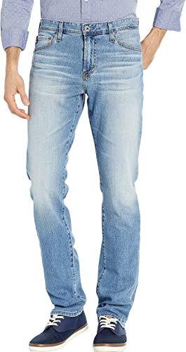 (AG Adriano Goldschmied Men's Everett Slim Straight Leg Denim Jeans in Falling Star Falling Star 32 34)