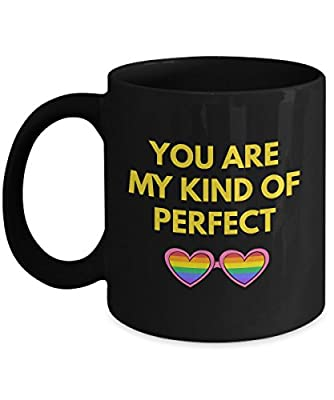Love -You Are My Kind Of Perfect Romantic Cute Funny Coffee Mug Tea Cup Cool lovely Gift for Married Couples Husband Wife who are in love & family girl boy friend