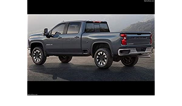 Amazon Com Chevrolet Silverado Hd 2020 Poster 18 X 24