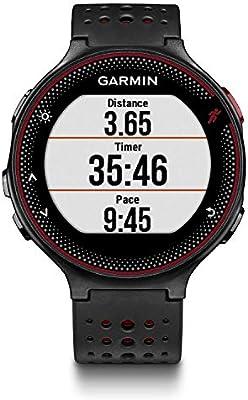 Garmin Forerunner 235 - Reloj con pulsómetro en la muñeca, unisex, color negro y rojo, talla única: Garmin: Amazon.es: Deportes y aire libre