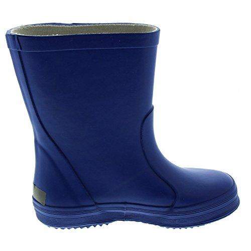 CELAVI 114770626 Kinder Unisex Wasserdichte Gummistiefel, 100% Naturkautschuk Regenstiefel, Größe: 26, blau