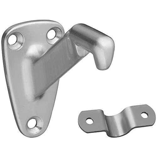 - National Hardware S825-901 8025 Heavy Duty Handrail Brackets in Nickel, 3