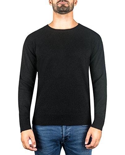 Girocollo Maglione A Uomo xxl s Da Sweater Nero Cash Pullover mere ch Cachemire 100 TWgAqxBYF