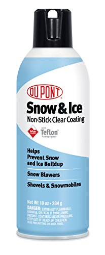 DuPont Teflon Snow and Ice Repellant, 10-Ounce (Best Single Stage Snow Blower)