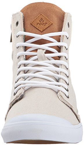 Reef Grey Sneaker Cream Fashion Girls Hi Walled Women's 0apr0