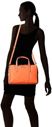Preppy Orange Poly Satchel Vera Women's Cross Bradley Body Duffel Handbag RSPCp