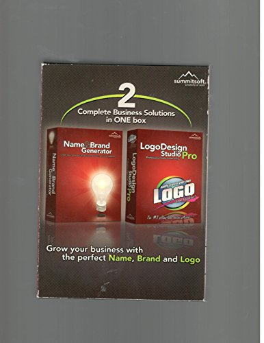 - 2 Complete Business Solutions in One Box (1- Name and Brand Generator, 2- Logo Design Studio Pro (2008)