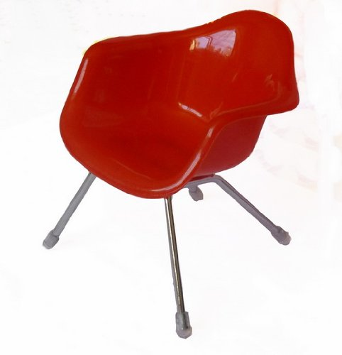 (SL#3 High quality Mini chair) RED Fashionable Universal Cell Phone / Camera / PDA / MP3 MP4 / Electronics / Card Holder / Holster / Cradle / Mount / Mini chair Stand Display - Chair Display