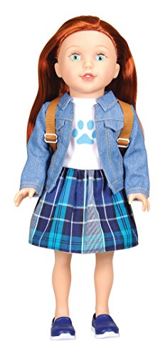 Bumbleberry Girls Kids Cassidy Girl Doll, Red Hair, 15