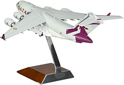 Gemini200 Qatar C-17 Die-Cast Aircraft (1:200 Scale)