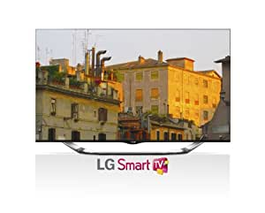 LG Electronics 55LA8600 55-Inch Cinema Screen 3D 1080p 240Hz LED-LCD HDTV with Smart TV, Built-In Camera and Four Pairs of 3D Glasses (Discontinued by Manufacturer)