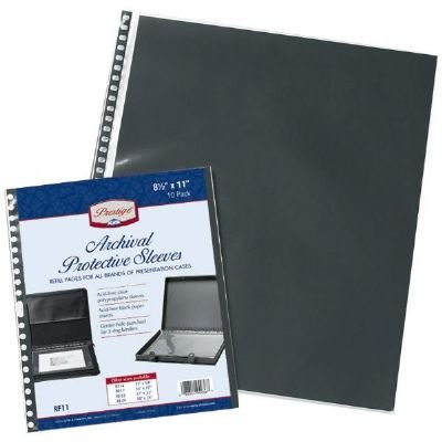 Prestige RF24 Archival Protective Sleeve 18 inches x 24 inches (Plastic Inserts Protective)