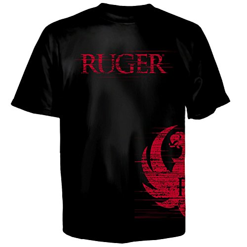 Sturm Ruger (UWareTees Ruger Side Wrap Short Sleeve Men's T-Shirt-Medium)
