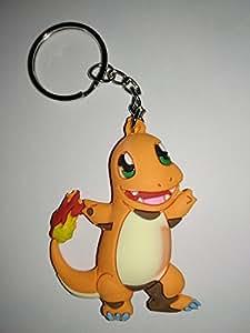 Llavero de Goma Pokémon Doble Cara (Charmander): Amazon.es ...