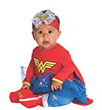 DC Comics Baby Wonder Woman Onesie And Headpiece