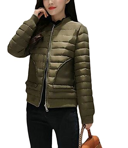 Packable Down today Quilted Jacket Army Women Puffer UK Coat Lightweight Green Ef11qTw