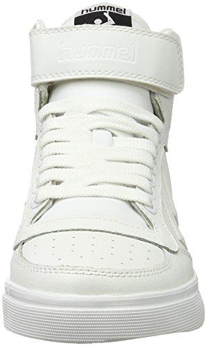 Hummel Stadil Classic Sport, Zapatillas Altas Unisex Adulto Blanco (White)