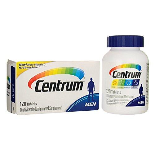Centrum Men (120 Count) Multivitamin/Multimineral Supplement Tablet, Vitamin D3