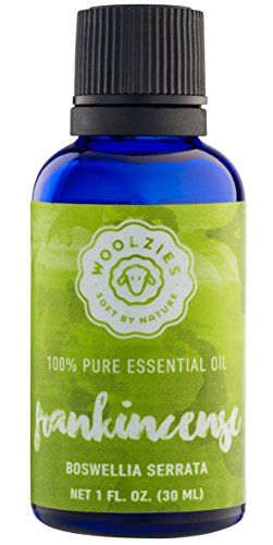 Woolzies best quality 100% Pure Frankincense essential oil, Therapeutic grade, 1 fl oz