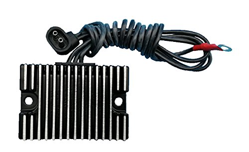 Tuzliufi Replace Voltage Regulator Rectifier Harley Davidson Evolution Big Twin Dyna Electra Tour Touring Glide Heritage Softail Evo 32A 33A Road King Springer 74519-88 74519-88A 1989-1998 1999 Z100