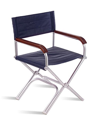 FORMA Marine Deck Chair, Boat Chair, Folding, Exclusive, Anodized,  Aluminium,