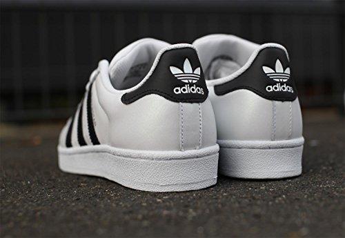Blanco white ftwr Low Unisex black Adidas Zapatillas core Originals Top Adultos Superstar qzzU0Z