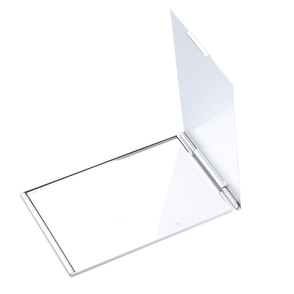 B Blesiya Portable Pocket Square Mirror Compact Makeup Cosmetic Fashion Vanity Mirrors - 5