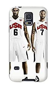 New Arrival Case Cover With ICnqvPp2891leptr Design For Galaxy S5- Lebron James Deron Williams Nike Basketball Kevin Durant Kobe Bryant Usa Nba