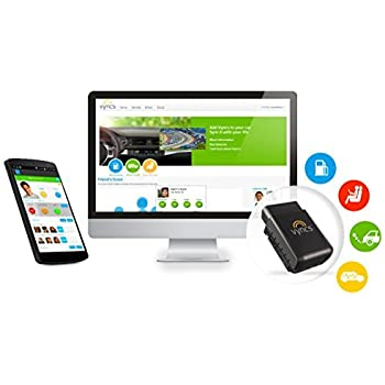 Vyncs Premium No Monthly Fee Connected Car Obd G Car Gps Tracker Teen Coaching Car Health Fuel Economy Emission One Year Roadside Assistance Included