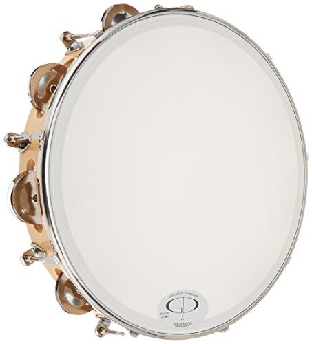 GP Percussion TP108 Professional Tunable (Tunable Tambourine)